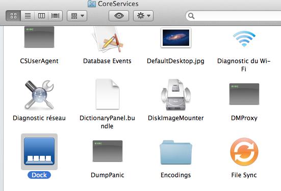 CoreServices - Lion : Changez le fond de Mission Control & Dashboard
