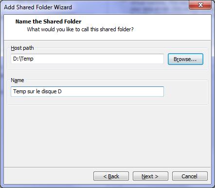 Host Path - VMware – Mac OS X Lion sur votre PC (Windows)