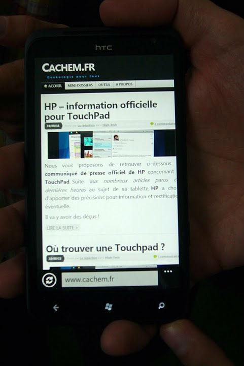 Htc Titan Cachem - HTC Radar & Titan