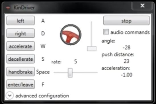 KinDriver - Jouez à GTA sur votre PC avec le Kinect
