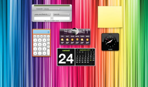 New Dashboard - Lion : Changez le fond de Mission Control & Dashboard