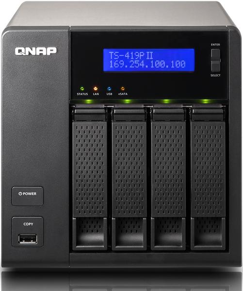 TS419P2 - QNAP annonce 3 nouveaux NAS