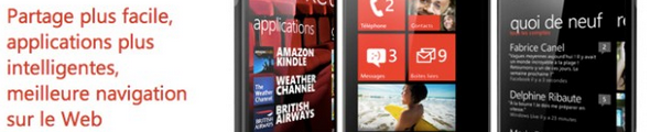 Windows Phone Market - Windows Phone 7.5 est disponible