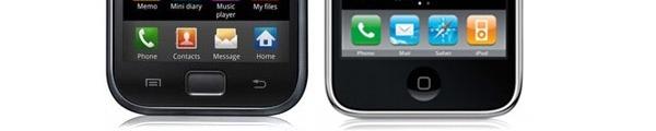 bandeau Samung iPhone 5 - Samsung contre-attaque
