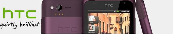 bandeau htc rhyme - HTC Rhyme dévoilé...