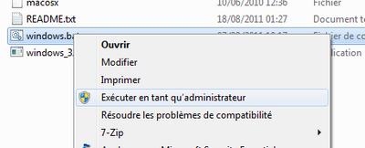 executer en tant andim - VMware – Mac OS X Lion sur votre PC (Windows)