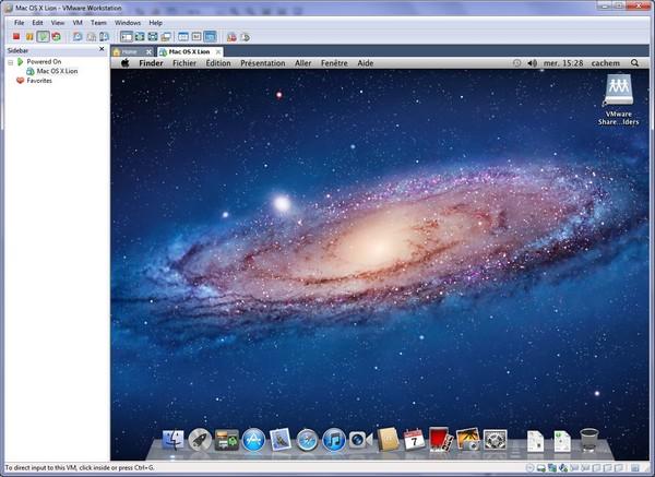 le graal - VMware – Mac OS X Lion sur votre PC (Windows)