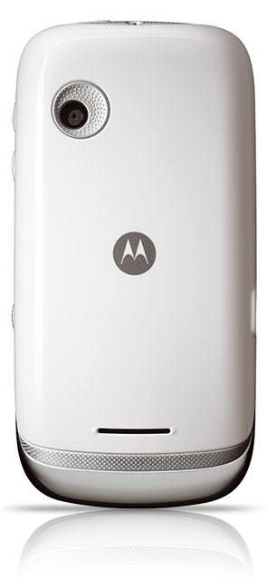 motorola fire blanc dos - Motorola FIRE blanc