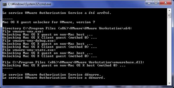 ms dos - VMware – Mac OS X Lion sur votre PC (Windows)