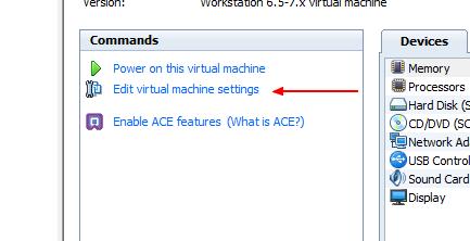 personnalisation image virtual machine