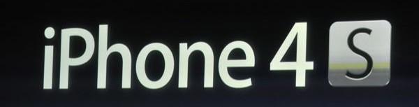 iPhone 4S - iPhone 4S officialisé