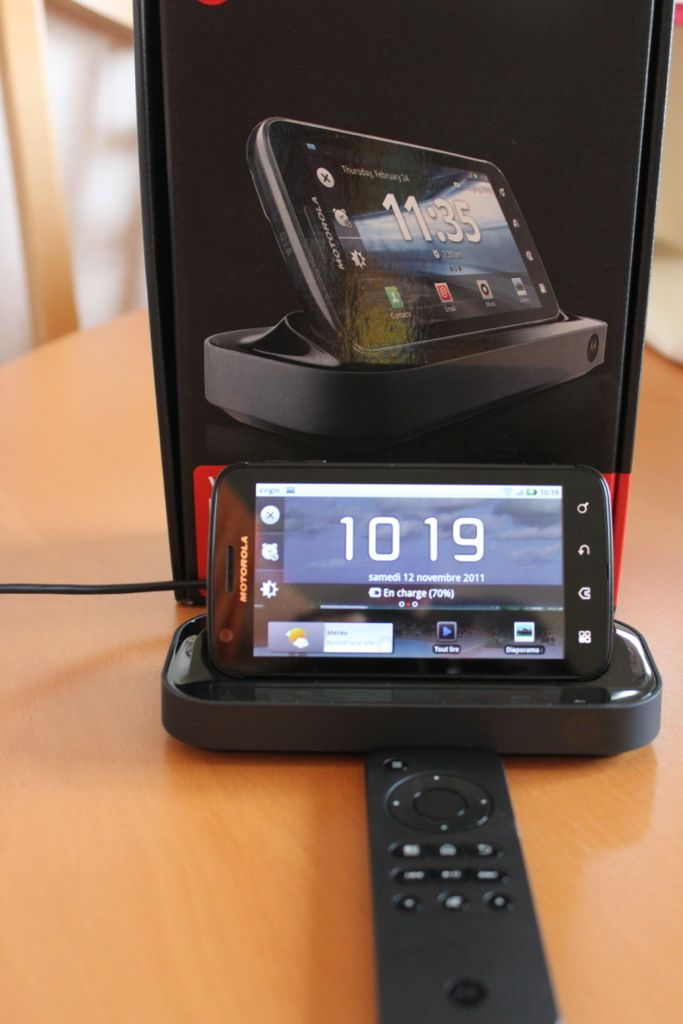 Station accueil Atrix - Motorola Atrix, un mobile surprenant