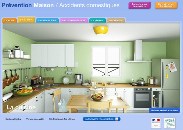 prevention maison accidents domestiques - Prévention des accidents domestiques