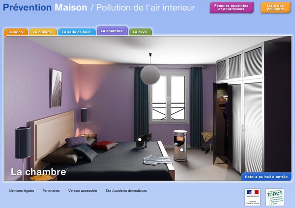 prevention maison pollution air interieur - Prévention des accidents domestiques