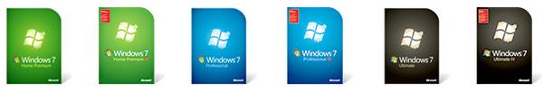 windows 7 boites - Seven dépasse XP pour la première fois