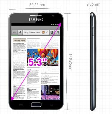 Galaxy Note - 1 million de Samsung Galaxy Note écoulé