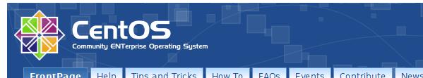 bandeau centos - CentOS 6.1 est disponible