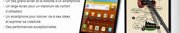 bandeau samsung galaxy note - 1 million de Samsung Galaxy Note écoulé