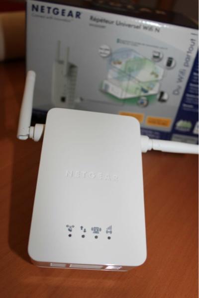 repeteur netgear - Un répéteur wifi universel