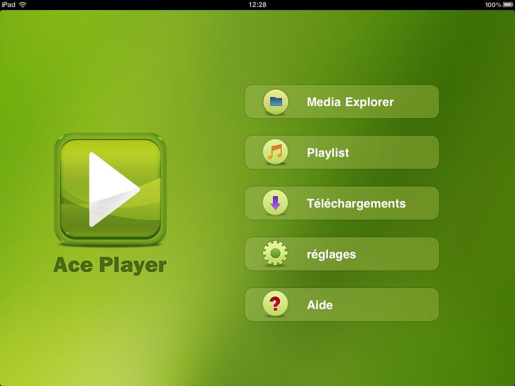 Ace Player sur iPad - Le lecteur multimédia ultime pour iPhone, iPod et iPad ?