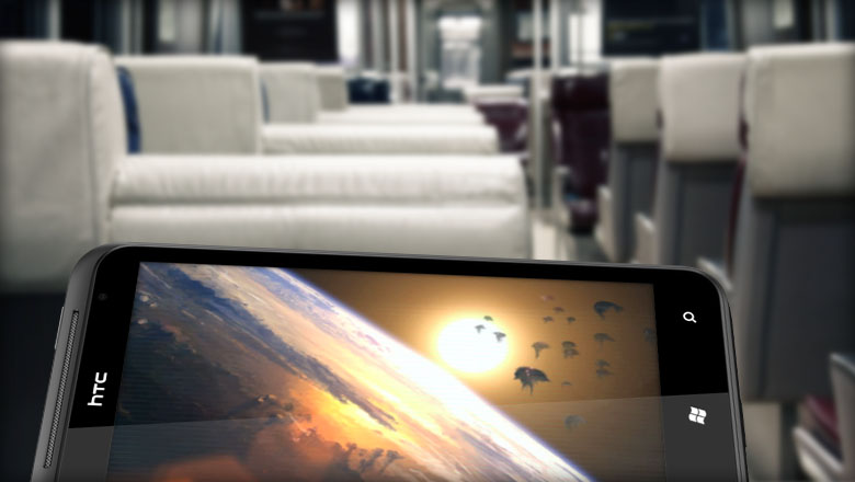 HTC Titan Train - HTC Titan, folie de la grandeur ou mobile ultime ?