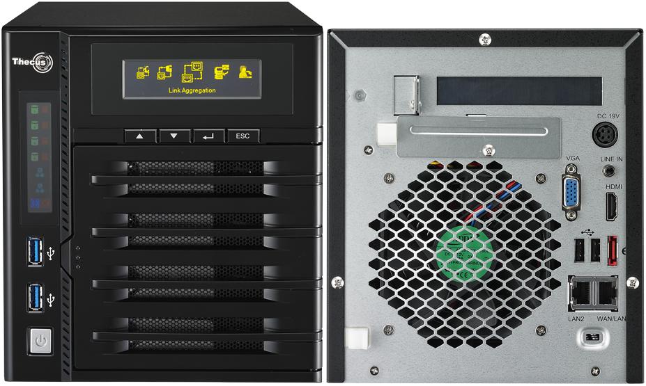Thecus N4800 - Thecus lance 2 nouveaux NAS