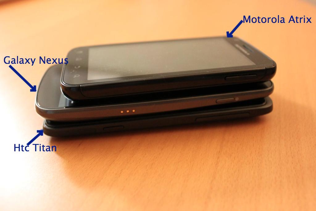 Titan GNexus Atrix - HTC Titan, folie de la grandeur ou mobile ultime ?