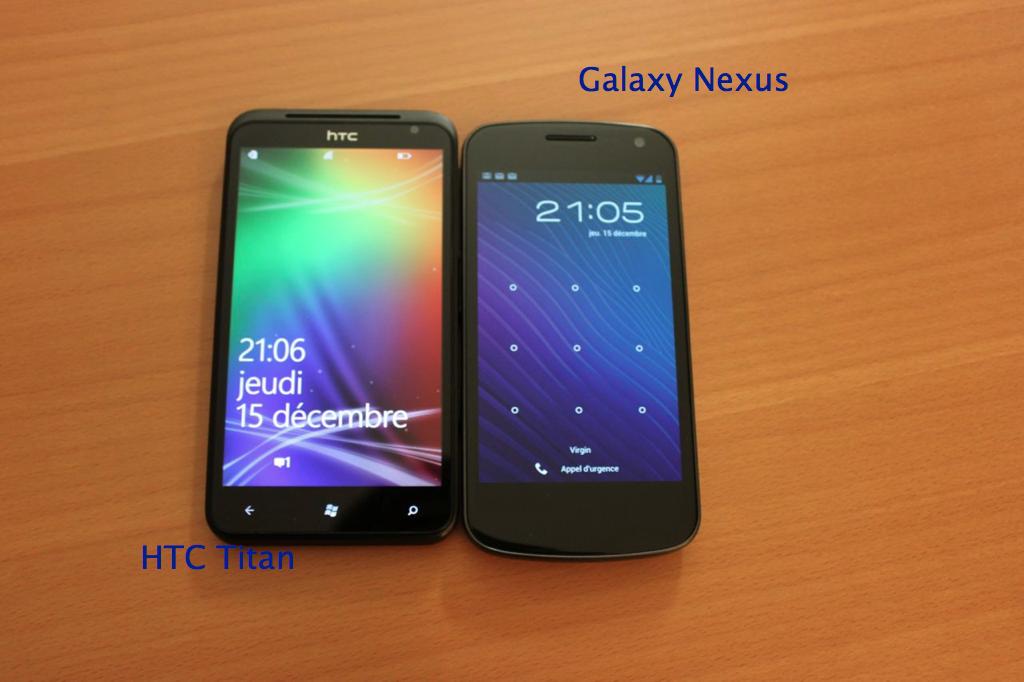 Titan GalaxyNexus - HTC Titan, folie de la grandeur ou mobile ultime ?