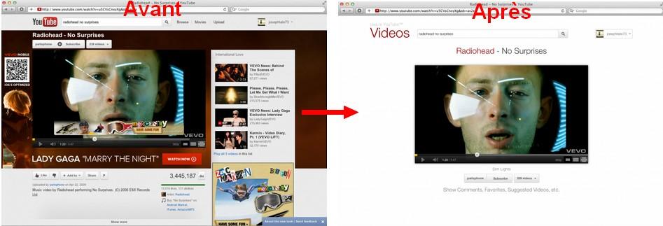 avant apres YouTube - YouTube sans fioriture