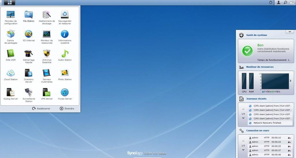 deuxieme espace dsm4.0 1024x546 - DSM 4.0 Beta est disponible