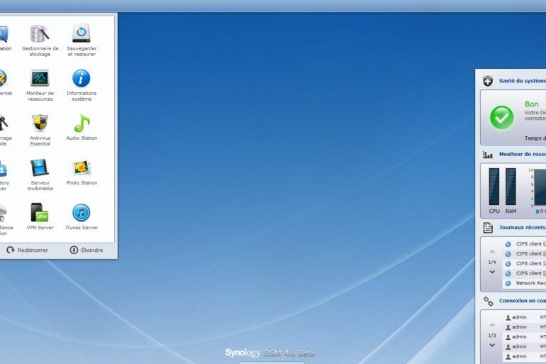 deuxieme espace dsm4.0 770x513 - DSM 4.0 Beta est disponible