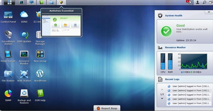 espace dsm4.01 - DSM 4.0 Beta est disponible