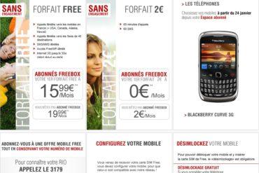 offres free mobile 370x247 - Free Mobile, quelques ratées