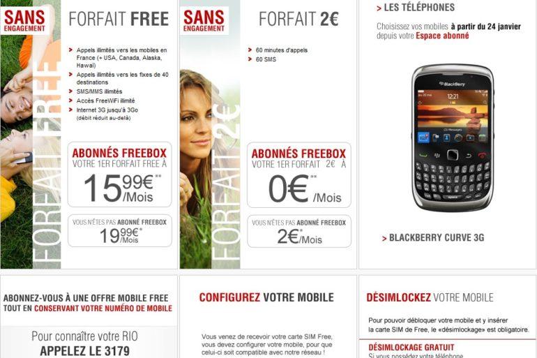 offres free mobile 770x513 - Free Mobile, quelques ratées