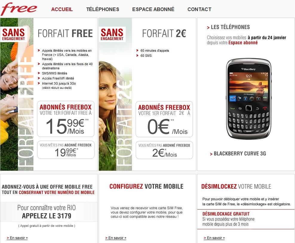 offres free mobile - Free Mobile, quelques ratées