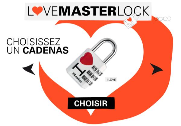 LoveMasterLock - e-Cadenas d'Amour pour la votre Valentin(e)