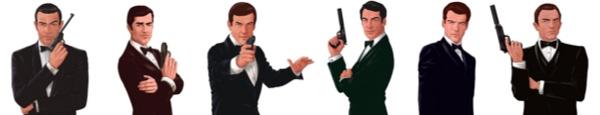 bandeau James Bond - Les voitures de James Bond en 1 image