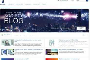 ericsson website 370x247 - [rumeurs] Ericsson sera présent au MWC 2012