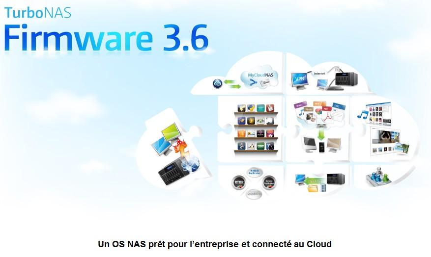 firmware 36 - QNAP met à jour son firmware en version 3.6