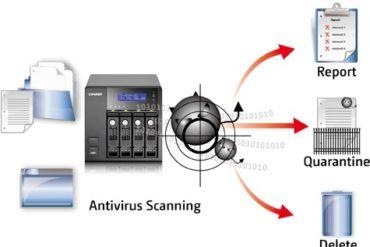 qnap antivirus 370x247 - Antivirus sur NAS - Premier test !