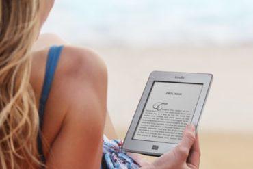 Kindle plage 370x247 - Test Kindle