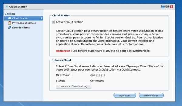 activation cloud station Synology - Synology - Prise en main du Cloud