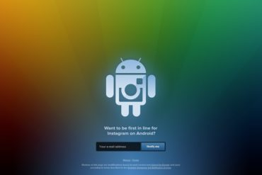 instagram android 370x247 - Android - Inscription ouverte pour Instagram
