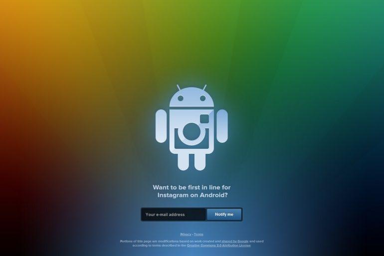 instagram android 770x513 - Android - Inscription ouverte pour Instagram