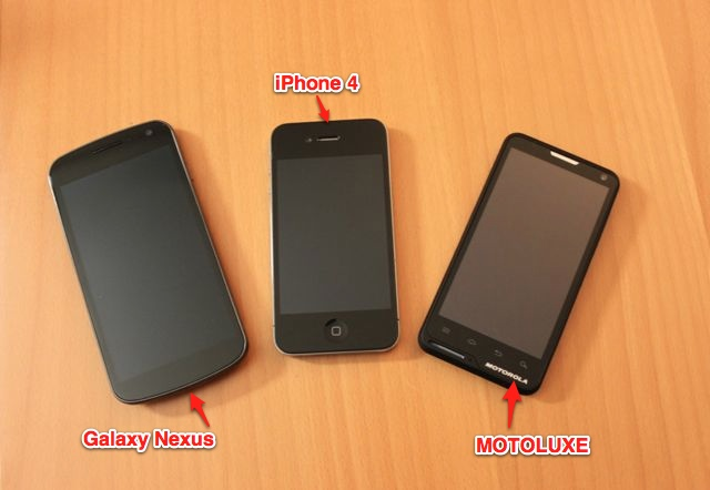 nexus iphone motoluxe - Test du mobile MOTOLUXE