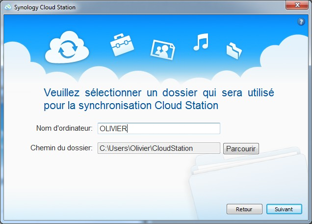 synology dossier cloud