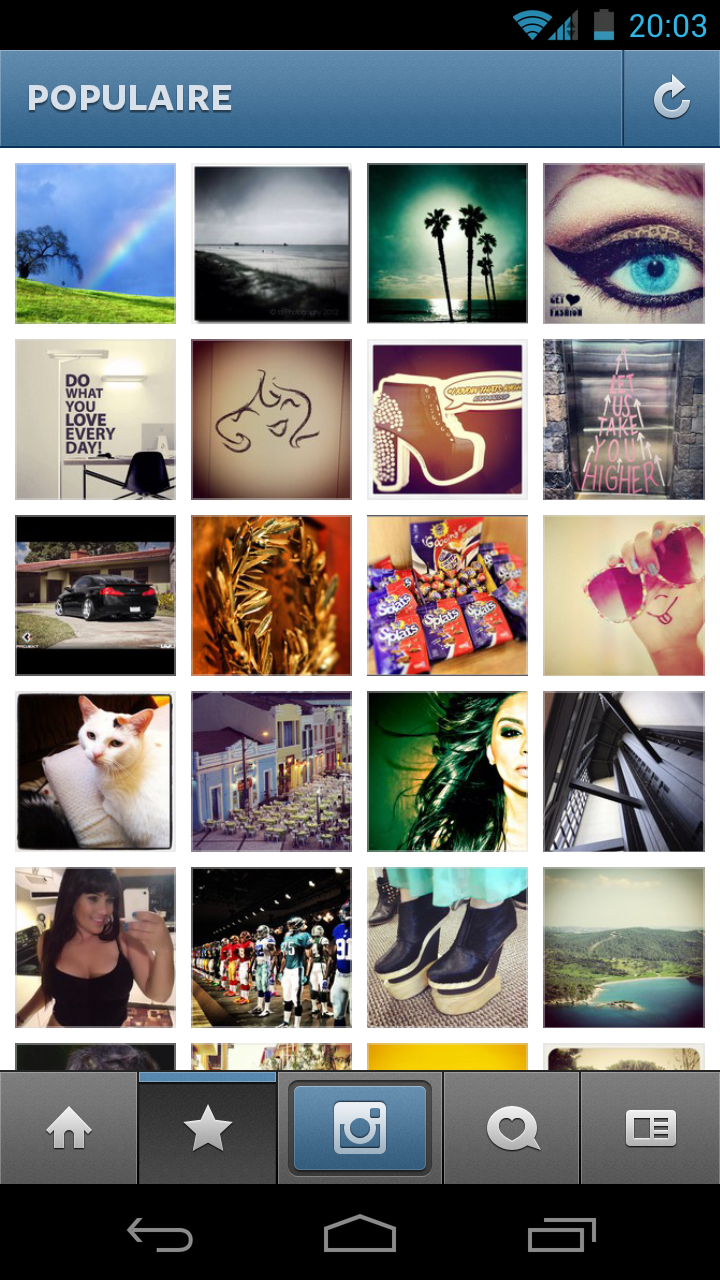 Instragram android 4.0 ICS Galaxy Nexe - Instagram arrive sur Android