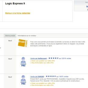 LogicExpress9 293x293 - Logic Express 9 à moins de 15€