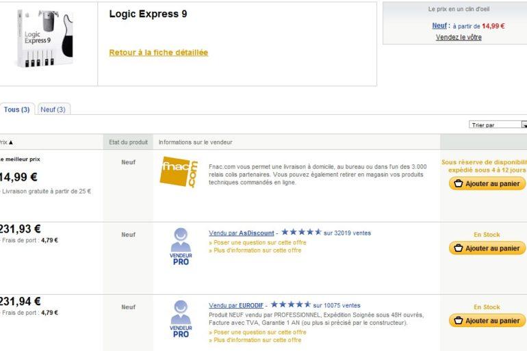 LogicExpress9 770x513 - Logic Express 9 à moins de 15€