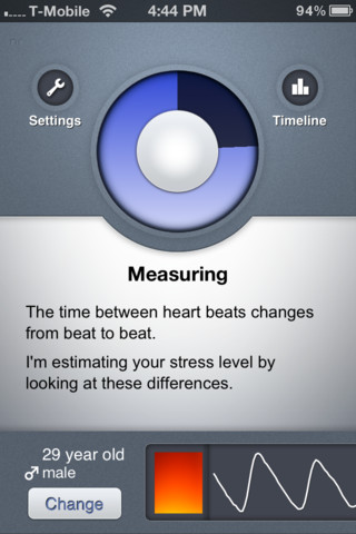 Stress check - 2 applications santé sous Android et iOS